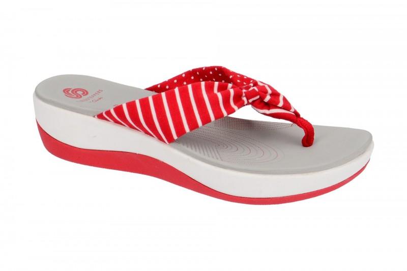 Clarks ARLA GLISON Pantoletten für Damen in rot