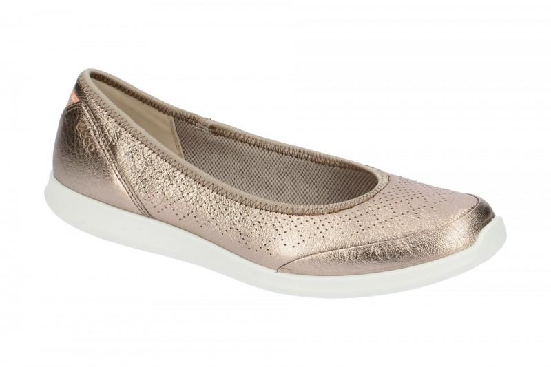 Ecco SENSE Ballerina - Halbschuhe - Slipper für Damen in grau