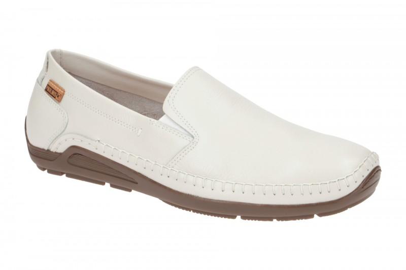 Pikolinos AZORES bequeme Slipper für Herren in weiß