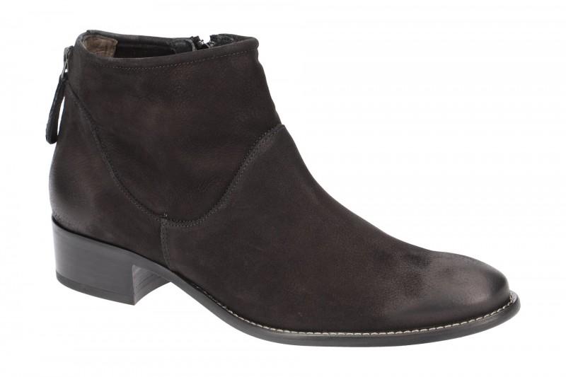 Paul Green 8086 elegante Stiefelette für Damen in schwarz