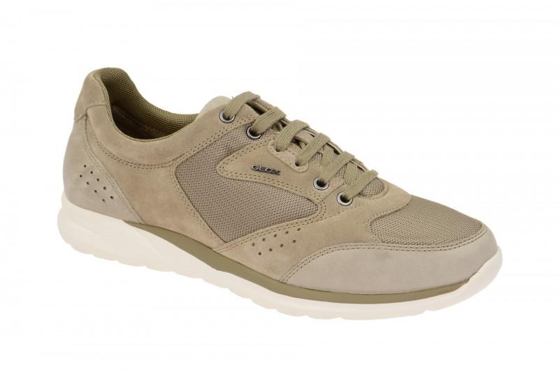 Geox Respira Damian A Sneakers in beige Herrenschuhe