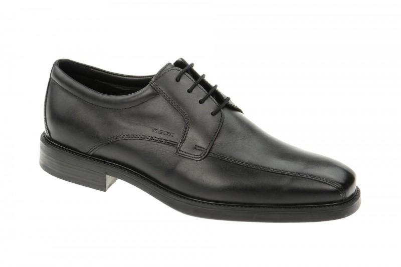 Geox Respira Londra Herrenschuhe elegant in schwarz