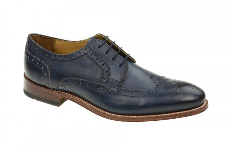 Gordon & Bros. FABIAN Rahmengenähte Schuhe für Herren in dunkel-blau