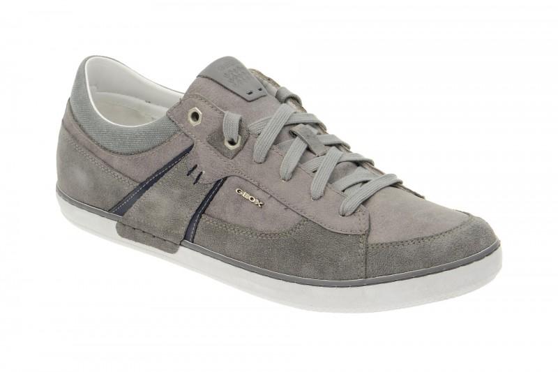 Geox Respira Box C Halbschuhe in grau Herren Sneaker