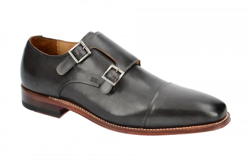 Gordon & Bros. LUCQUIN Rahmengenähte Schuhe für Herren in dunkel-grau