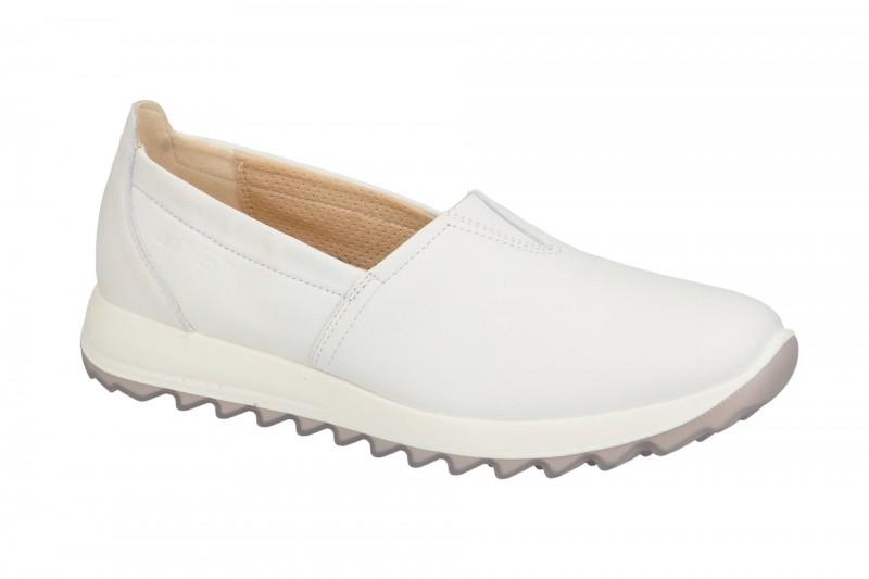 Legero AMATO 4.0 bequeme Slipper für Damen in weiß