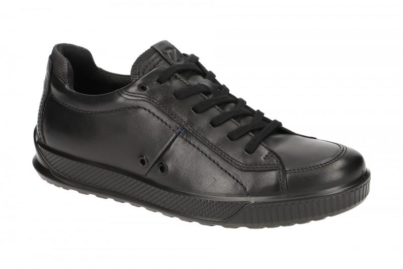 Ecco BYWAY sportliche Halbschuhe für Herren in schwarz