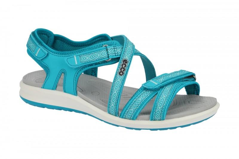Ecco CRUISE II Sandalette für Damen in hell-blau