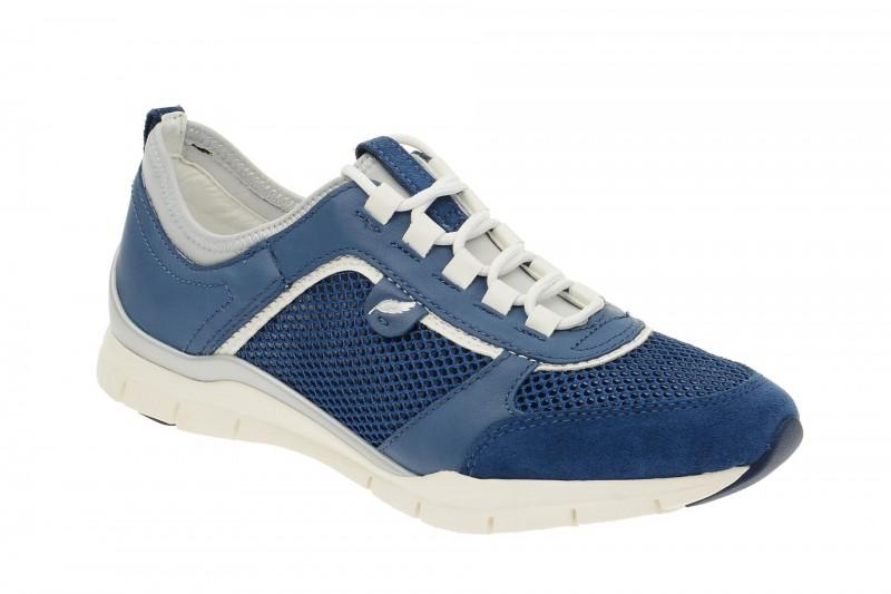 Geox Respira Sukie B Sneakers in blau Demenschuhe
