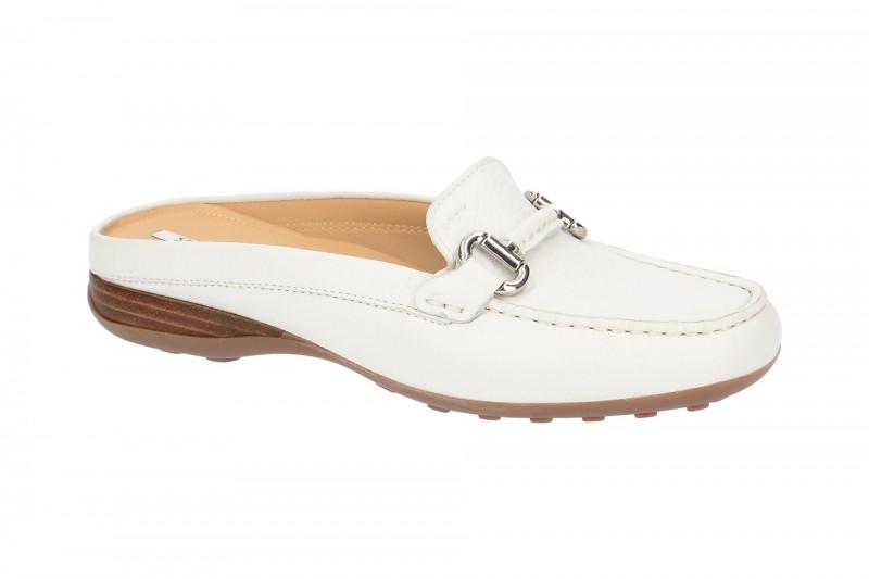Geox EURO bequeme Pantolette für Damen in weiß