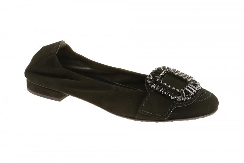 Kennel & Schmenger MALU Ballerina - Halbschuhe - Slipper für Damen in schwarz