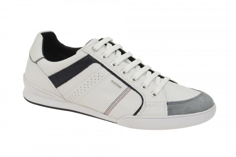 Geox Respira Kristof A Sneakers in weiß Herren Halbschuhe