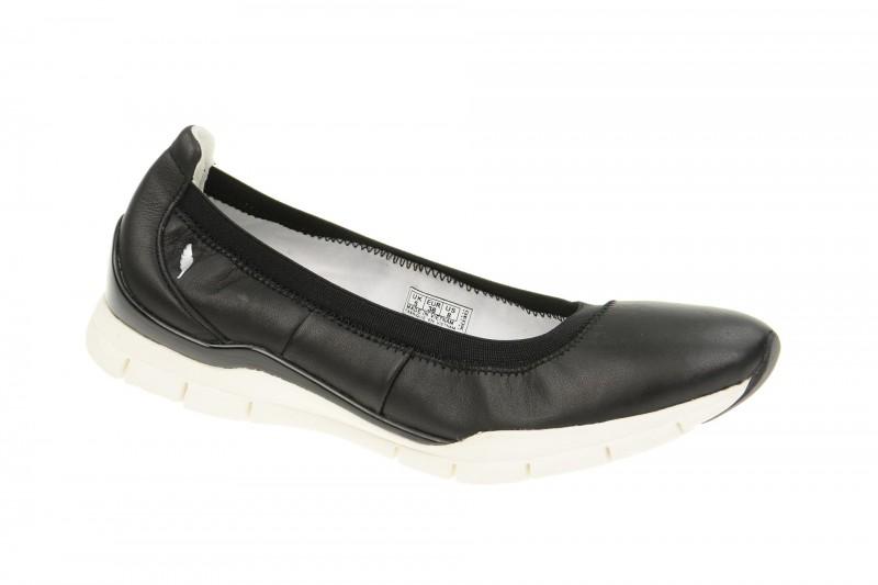 Geox Respira Sukie C Slippers in schwarz Ballerina
