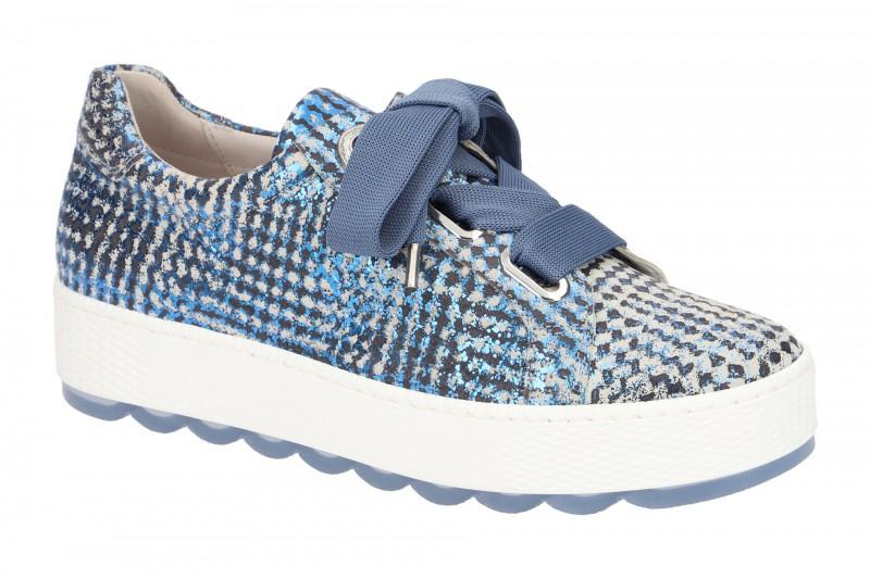 Gabor FLORENZ Sneakers für Damen in blau