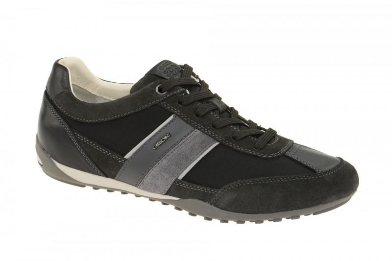 Geox Respira Wells C Halbschuhe in schwarz grau Herren Sneakers