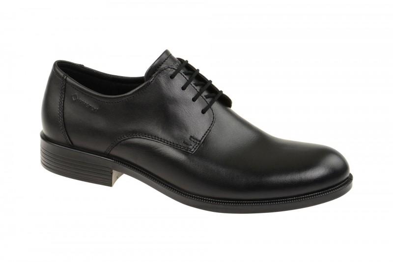 Ecco HAROLD elegante Halbschuhe und Schnürschuhe für Herren in schwarz