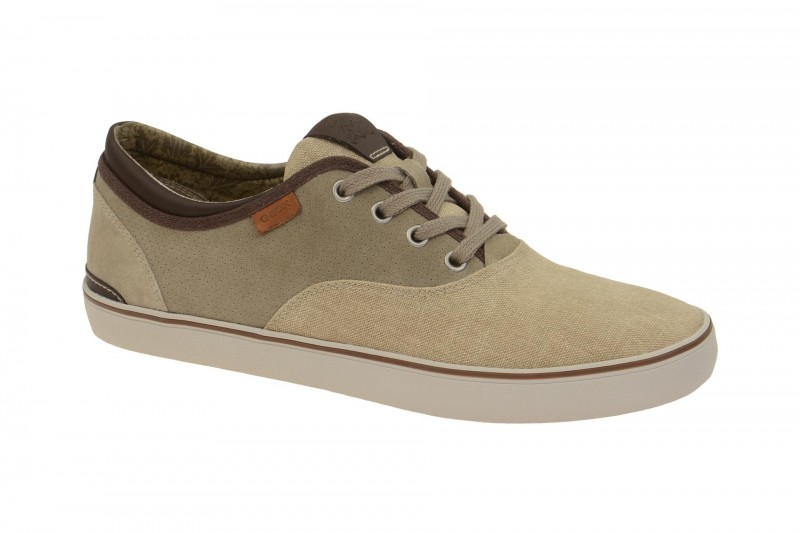 Geox Respira Smart B Sneakers in sand beige Herrenschuhe