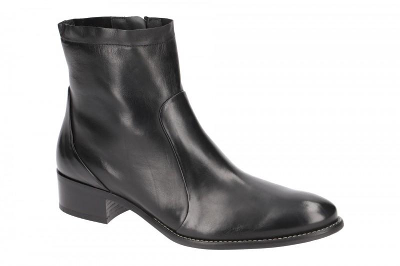 Paul Green 8063 elegante Stiefelette für Damen in schwarz