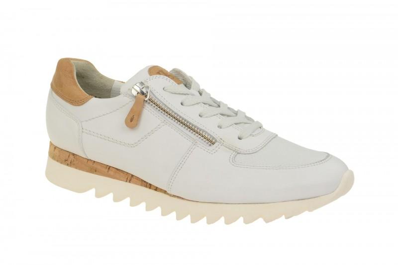 Paul Green 4485 sportliche Halbschuhe für Damen in weiß