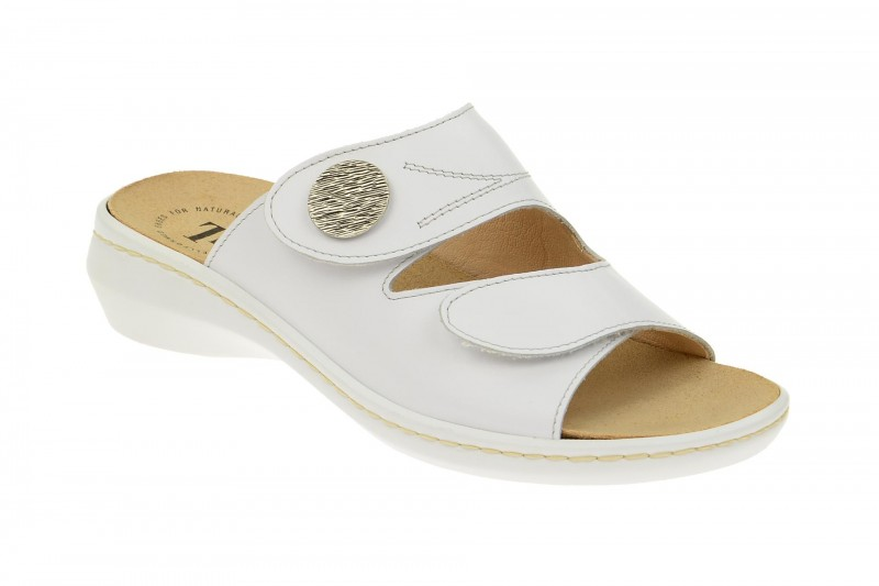 Think CAMILLA bequeme Pantolette für Damen in weiß