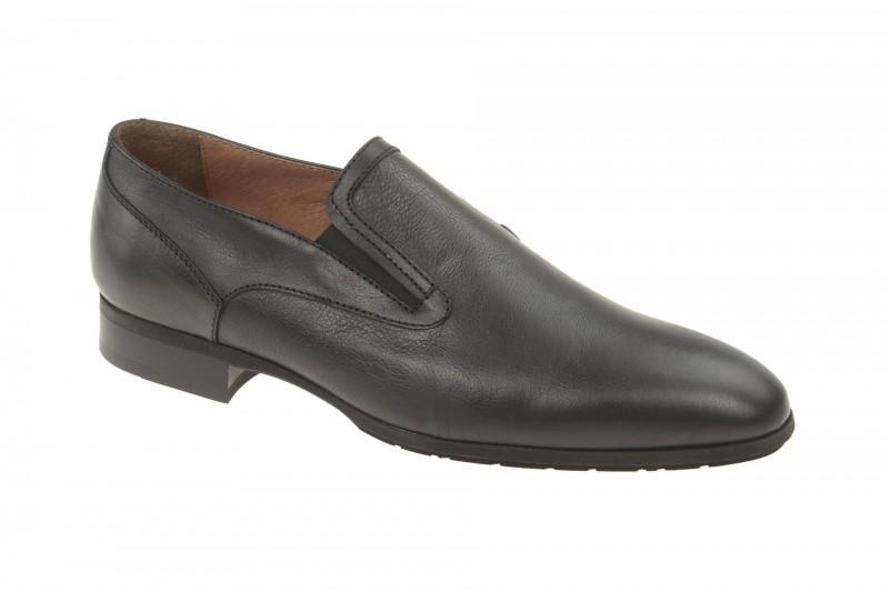 Bello D774 elegante Slipper für Herren in schwarz