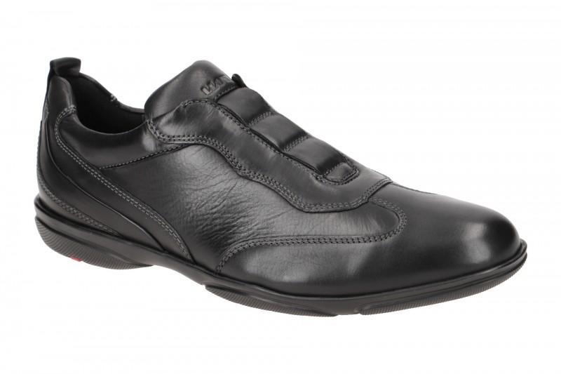 Lloyd BASEL elegante Slipper für Herren in schwarz