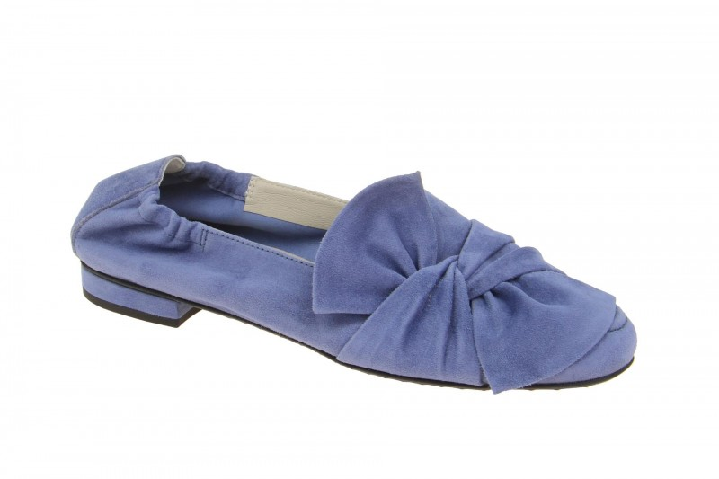 Kennel & Schmenger MALU Ballerina - Halbschuhe - Slipper für Damen in hell-blau