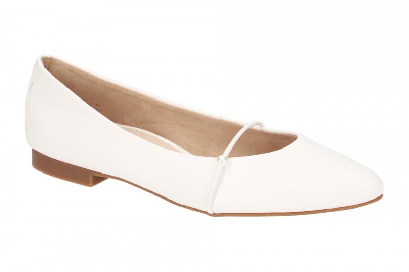 Paul Green 2374 elegante Slipper für Damen in weiß