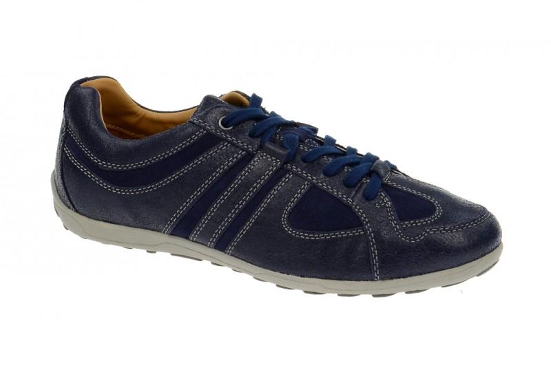 Geox Respira Mito Schuhe in dunkelblau - Herren Sneakers