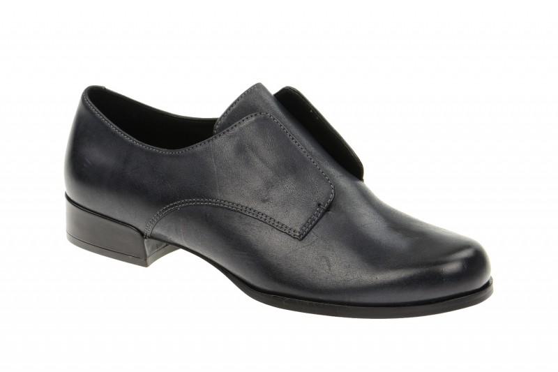 Ecco Sanford elegante Slipper für Damen in grau