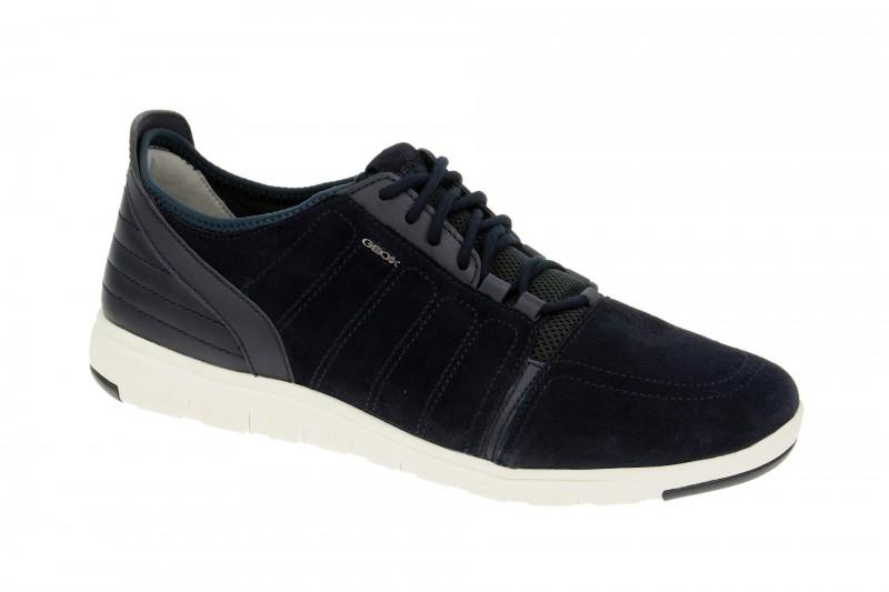 Geox Respira Xunday A Sneakers in dunkelblau Herrenschuhe