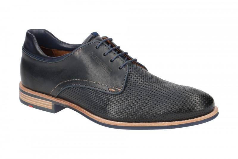 Lloyd MALLOY elegante Halbschuhe und Schnürschuhe für Herren in dunkel-blau