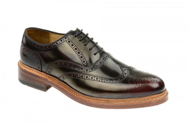 Gordon & Bros. LEVET Rahmengenähte Schuhe für Herren in rot