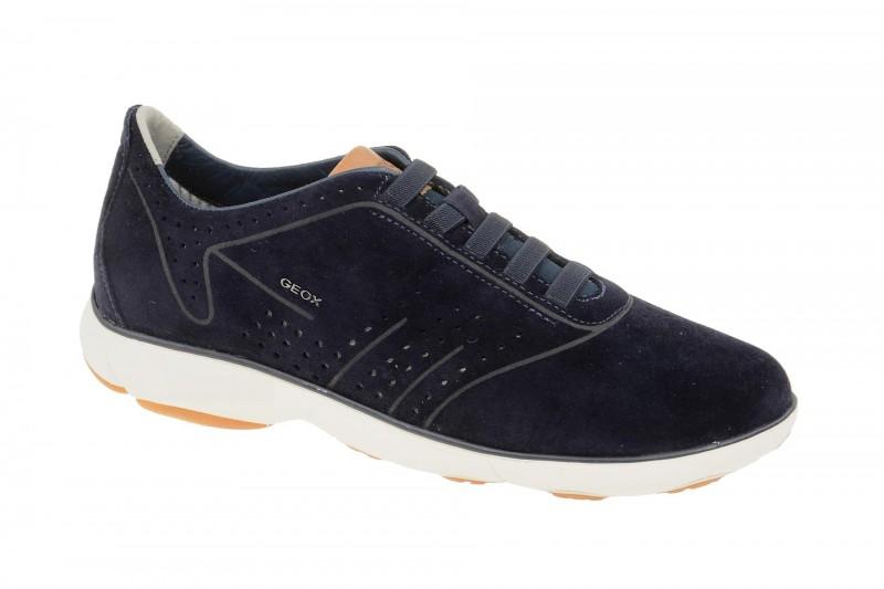 Geox Respira Nebula C Sneakers in dunkelblau Herren Slippers