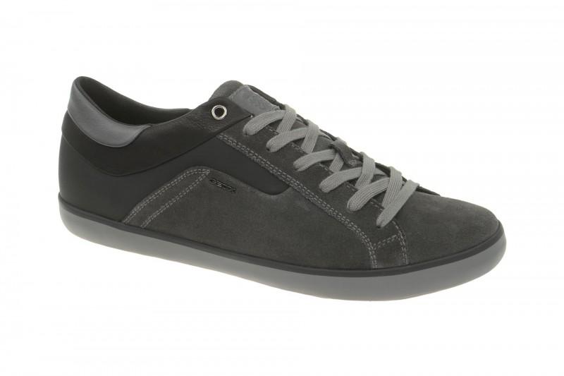 Geox Respira Box C Sneakers in dunkelgrau Herren Halbschuhe