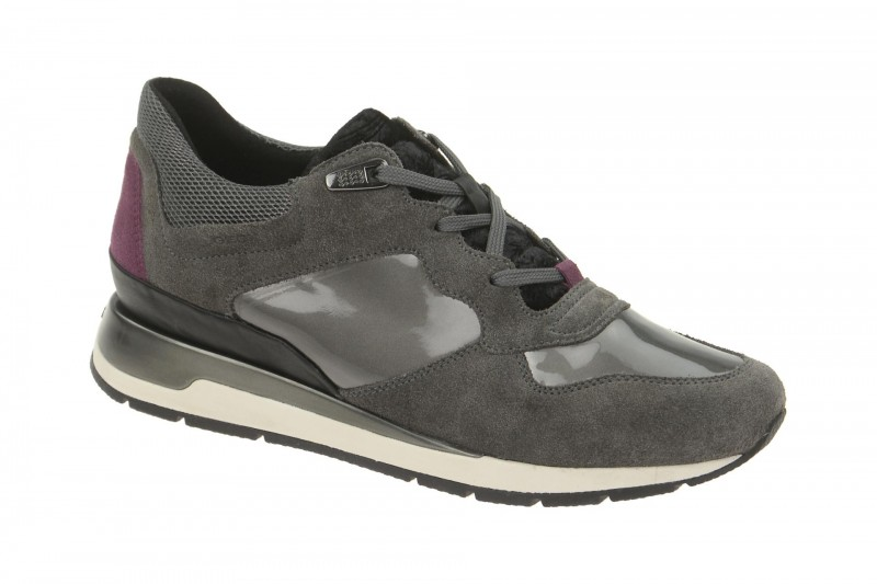 Geox Respira Shahira A Sneakers in dunkelgrau Halbschuhe