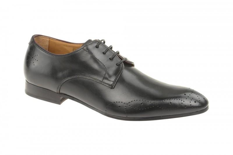 Gordon & Bros. MATTEO elegante Halbschuhe und Schnürschuhe für Herren in schwarz