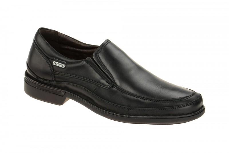 Pikolinos OVIDEO bequeme Slipper für Herren in schwarz