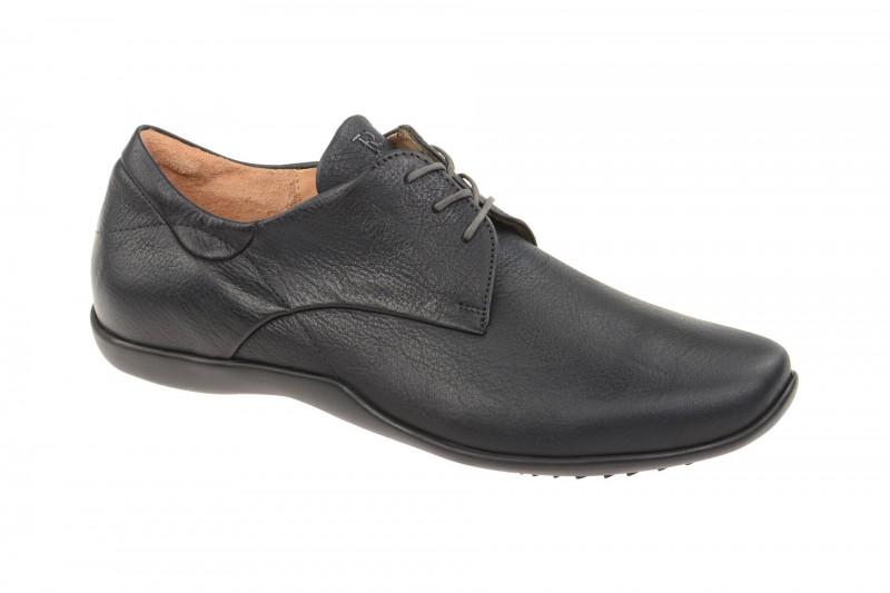 Think STONE elegante Halbschuhe und Schnürschuhe für Herren in dunkel-blau