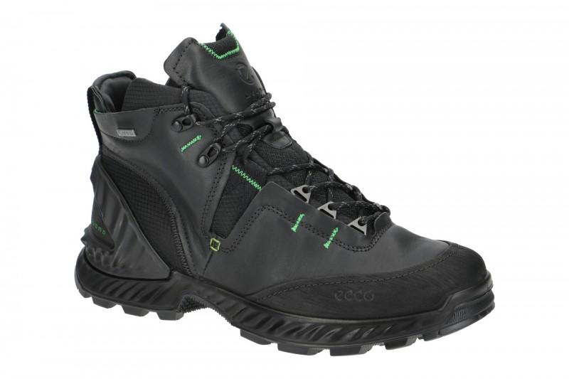 Ecco EXOHIKE Trekking- und Wanderstiefel für Herren in schwarz