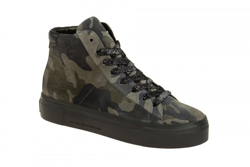 Kennel & Schmenger BIG Mid Cut Sneakers für Damen in dunkel-grau