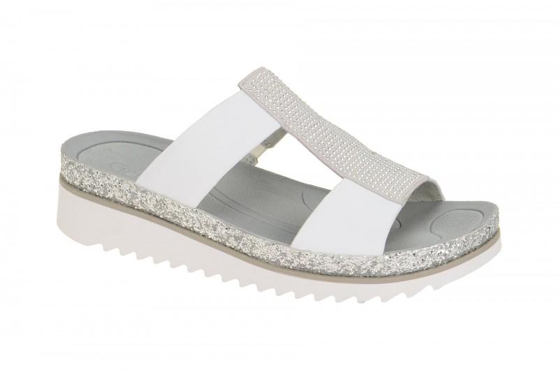 Gabor 23.720 bequeme Pantolette für Damen in weiß