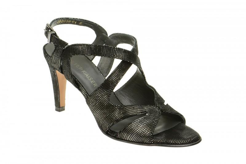 Peter Kaiser PADORA 75 Riemchen Sandale für Damen in schwarz