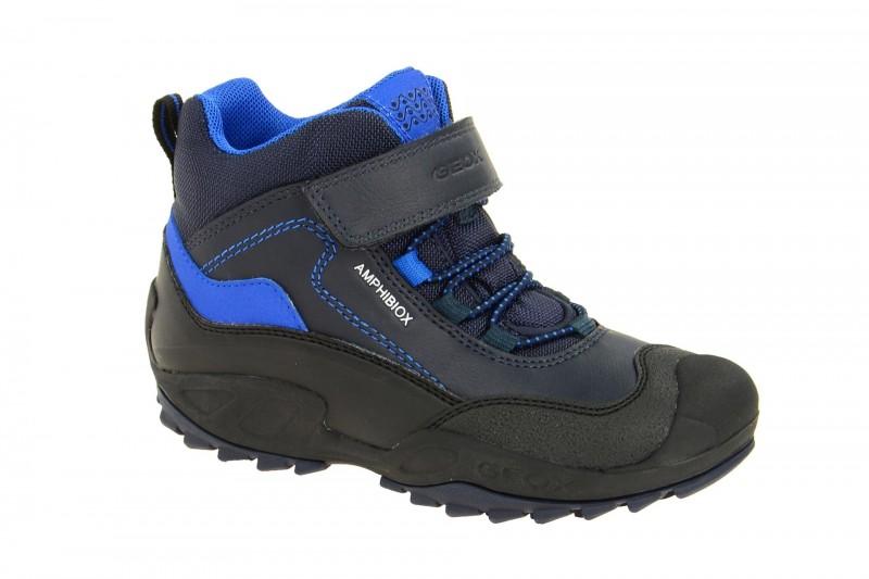 Geox Respira Jungen Stiefel Savage ABX in blau Allwetter Boots