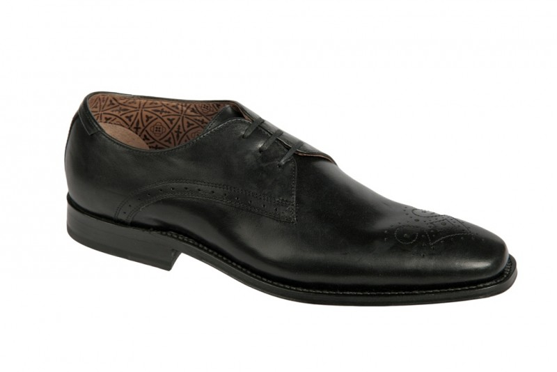 Clarks Crafting Shoe elegante Halbschuhe und Schnürschuhe für Herren in schwarz