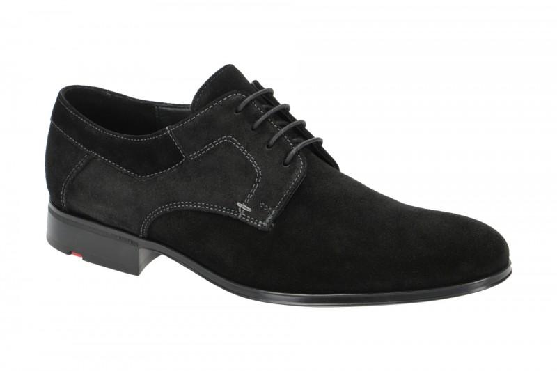 Lloyd LARO elegante Halbschuhe und Schnürschuhe für Herren in schwarz