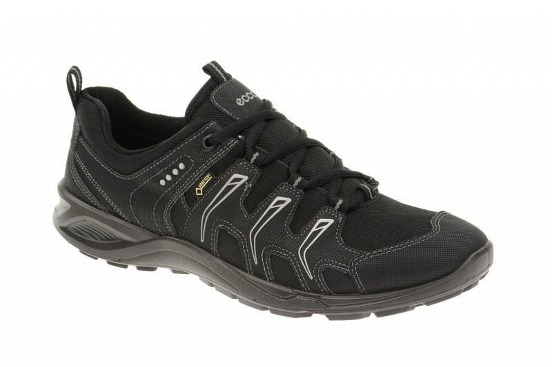 Ecco TerraCruise GTX sportliche Halbschuhe für Damen in schwarz