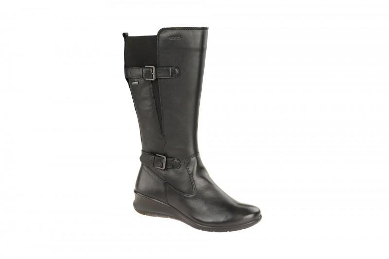 Ecco BABETT WEDGE elegante Stiefel für Damen in schwarz