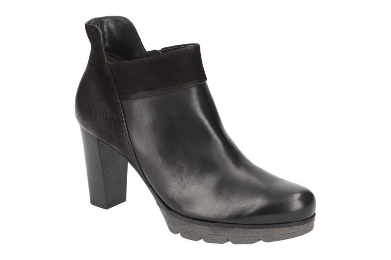 Paul Green 8217 elegante Stiefelette für Damen in schwarz