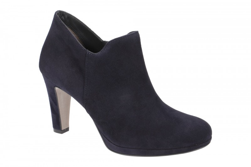 Paul Green 8651 elegante Stiefelette für Damen in blau